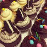 Mini cupcakes de Oreo, chocotorta y buttercream