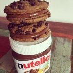 Alfacookies con Nutella