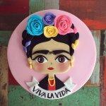Torta Frida Kahlo Rosa