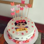 Torta Frida Kahlo Blanca
