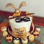 Mesa dulce Harry Potter